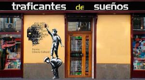 La librería, editorial y taller de diseño Traficantes de Sueños.