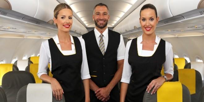 tripulantes de cabina Vueling