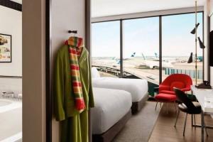 Las ventanas de las habitaciones tienen un grosor de 4,5 pulgadas para gozar de una insonorización a prueba de motores de avión.