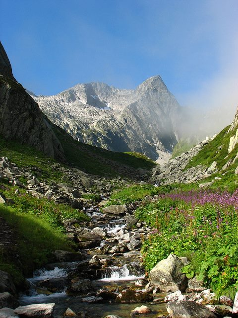 Paisaje alpino en Coeur de Savoie. Foto: facebook Office de Tourisme Cœur de Savoie.