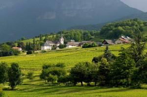 Uno de los pueblecitos de Coeur de Savoie.