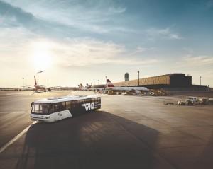 Vista del Aeropuerto Internacional de Viena. Foto: Vienna Airport