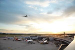 El Visitor World del Aeropuerto de Viena ofrece la oportunidad de ver desde dentro todo lo que sucede en un aeropuerto. Foto: Vienna Airport