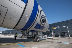 Boeing 787 900 de Star Wars. Foto Vienna Airport