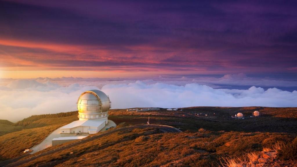 Observatorio Roque de los Muchachos. Foto: Bing Pic