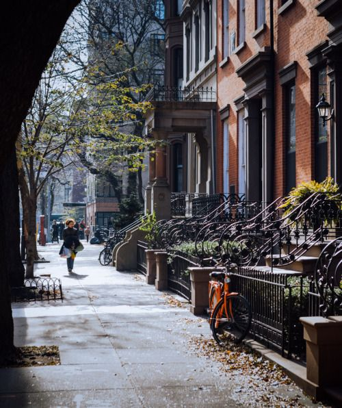 Una calle de Brooklyn.