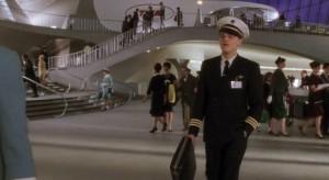 """En sus instalaciones se filmó la película de Steven Spielberg """"Atrápame si puedes"""". Fotograma del filme"""