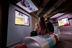 El espacio, diseñado por un autor austriaco de libros infantiles y estrella de la televisión de ese país llamado Thomas Brezina.