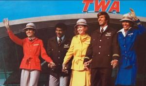 Los coloridos uniformes de los sesenta.