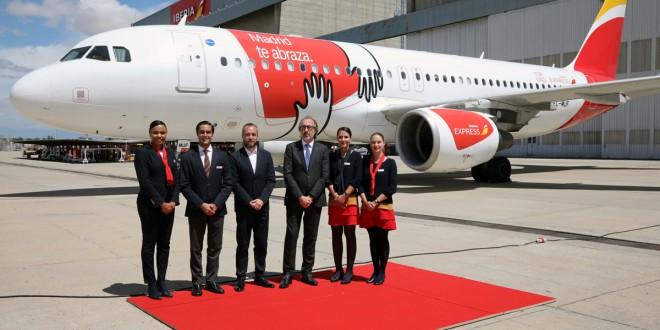 último A320 Iberia Express_Abrazo de Madrid