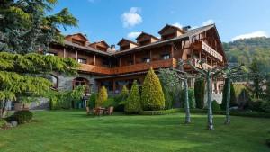 Hotel Grèvol Spa & Wellness en Llanars, Valle de Camprodon, Gerona.