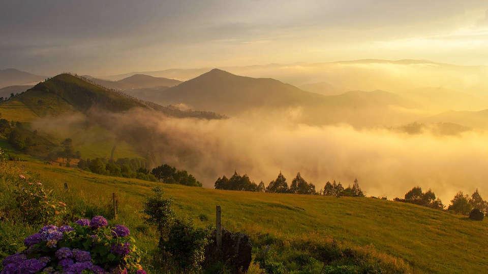 El entorno de Oneta, en Asturias.