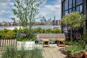 Manhattan desde la terraza de Lemon's.