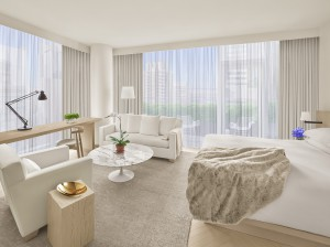 Una de las habitaciones del The Times Square EDITION.