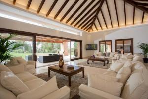Villa Freedom en Marbella puede alojar hasta 12 invitados.