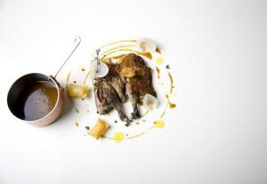 Platos de restaurantes estrella Michelin en tu propia mesa.