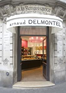 La pastelería de Arnaud Delmontel.