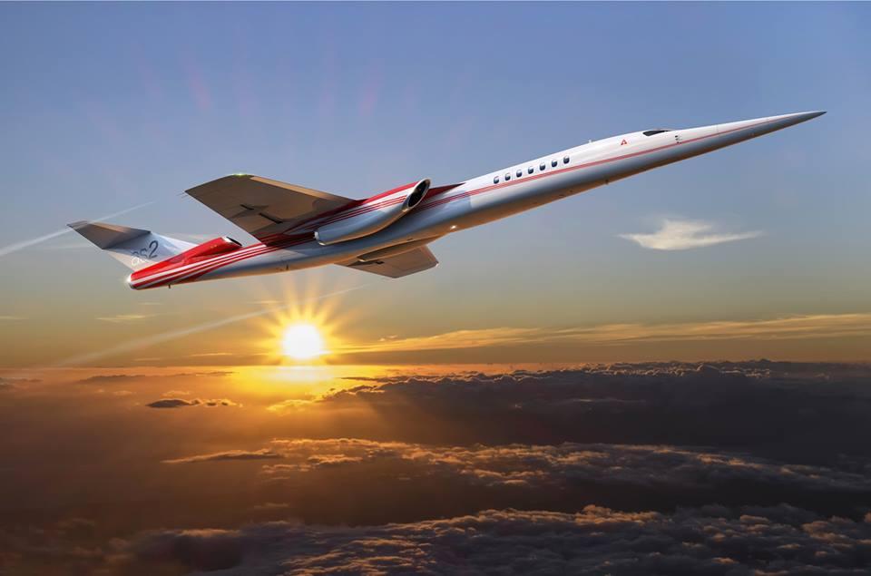Aerion, el jet privado supersónico en el que está invirtiendo Boeing, podrá volar a velocidades de hasta Mach 1.4.