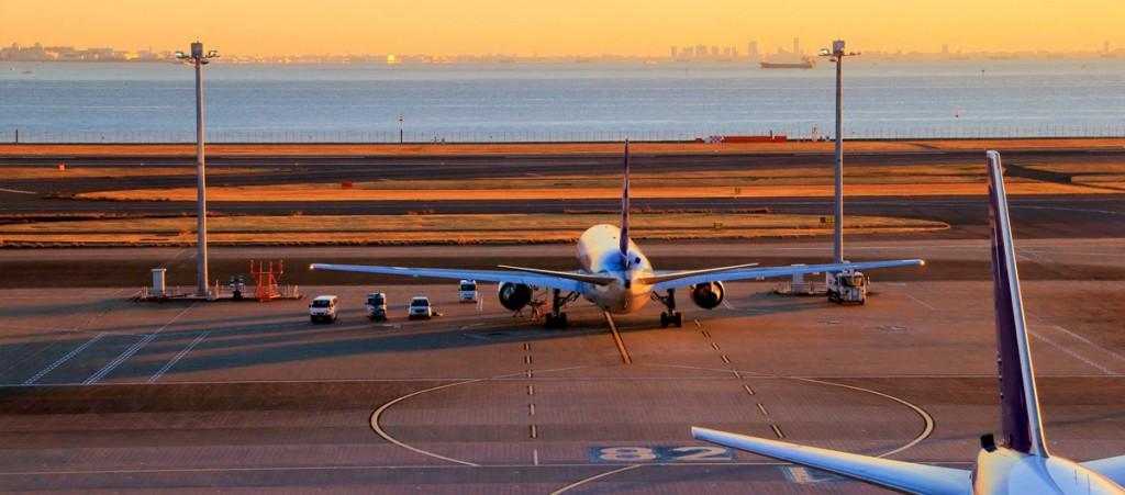 Aeropuerto Internacional de Haneda.