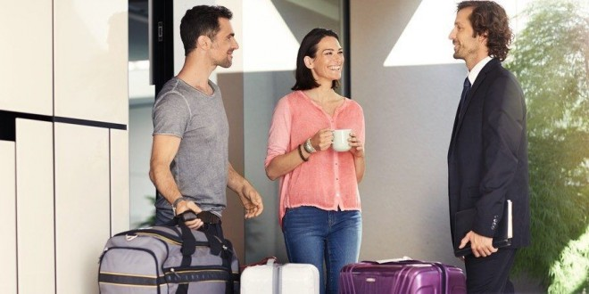 Lufthansa acaba de introducir en España este nuevo servicio: los pasajeros que viajen desde Madrid podrán facturar su equipaje desde el lugar que elijan.