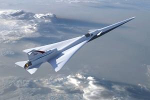 Diseño del X-59 QueSST de la NASA y Lockheed Martin