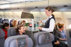 Servicio a bordo Lufthansa