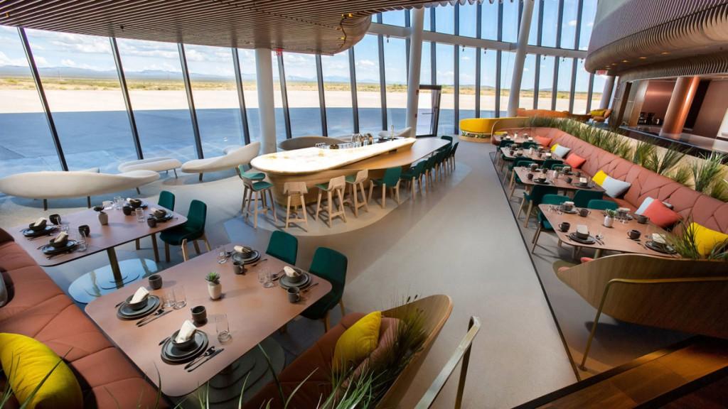 Una sala de espera de diseño será la puerta de salida hacia el espacio para los viajeros.