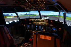 simulador de Boeing 737-800