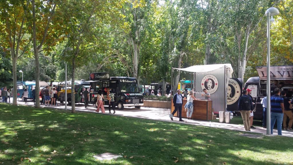 Los jardines de Azca vuelven a llenarse de camionetas con sabores de  todos los rincones del mundo.