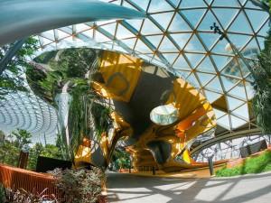 El Canopy Park, en la última planta, es un espacio de 14.000 metros cuadrados con diversas atracciones.