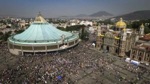La Basílica de Guadalupe.