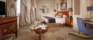 Elegancia clásica en el Hotel Príncipe di Savoia.