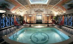 El spa del Hotel Príncipe di Savoia.