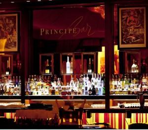 El bar del Hotel Príncipe di Savoia.