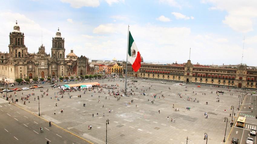 El Zócalo o Plaza de la Constitución. Foto: cdmxtravel.com