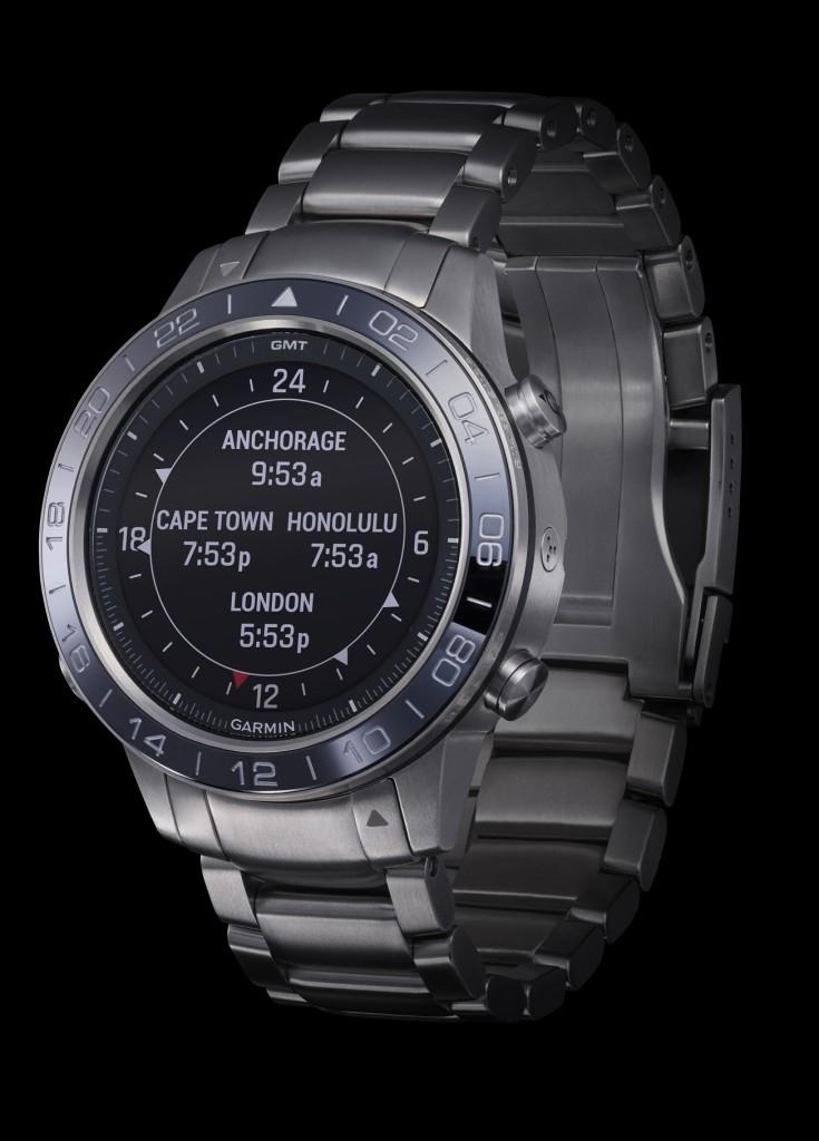 Lo que diferencia a Garmin del resto de smartwatches de alta gama es su software y su sistema de navegación y comunicación.