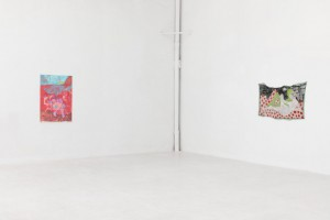 """Otra vista de la exposición """"hoo hoo hoo"""" de Dasha Shishki en L21."""