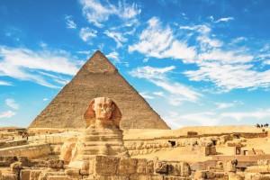 Los dos monumentos más insignes de Giza.