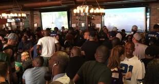 Harlem Tavern, un bar para ir a ver los partidos de baloncesto, fútbol americano, béisbol...