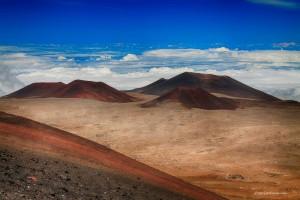 Volcán Mauna Kea de Hawái.
