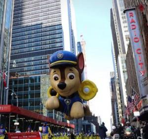 Los imprescindibles y típicos globos en cada desfile del Día de Acción de Gracias de Macy's.