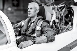 El comandante Gunnar Jansen.