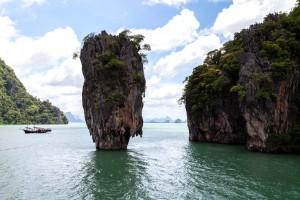 Isla Tapu del Parque Ao Phang Ng en Phuket.