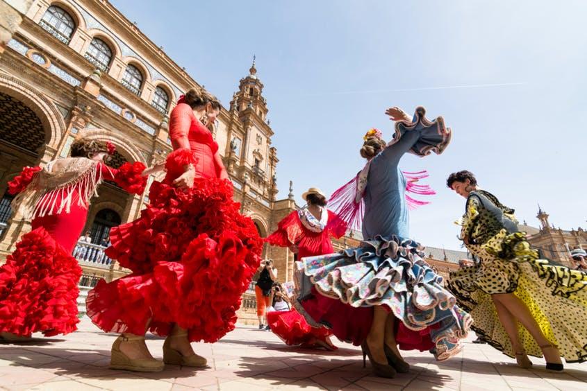 Flamenco, imprescindible en Sevilla. Foto: Leonov.O Shutterstock