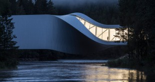 """Oslo es uno de nuestras mejores opciones para los viajes de noviembre. En la foto, la """"retorcida"""" galería de arte contemporáneo The Twist. Foto: visitoslo.com"""