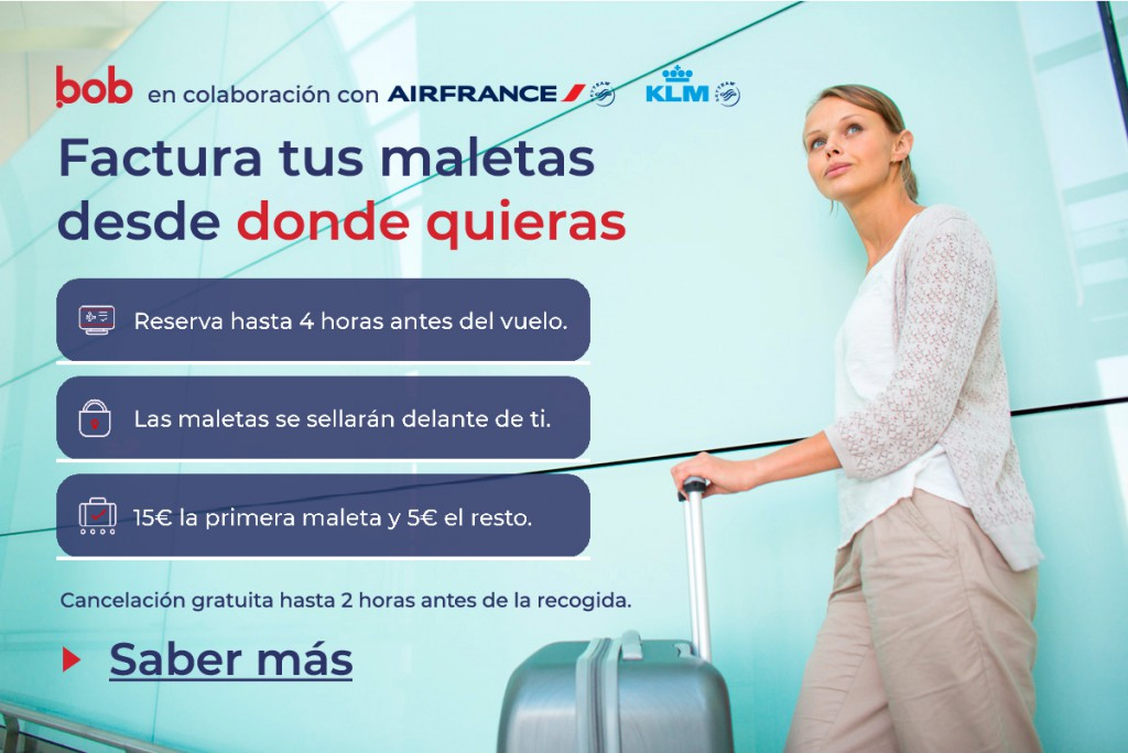 recogida de maletas KLM Air France
