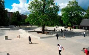 En Østerbro, el Faelledparken, el parque más grande de Copenhague. Foto: Visit Denmark