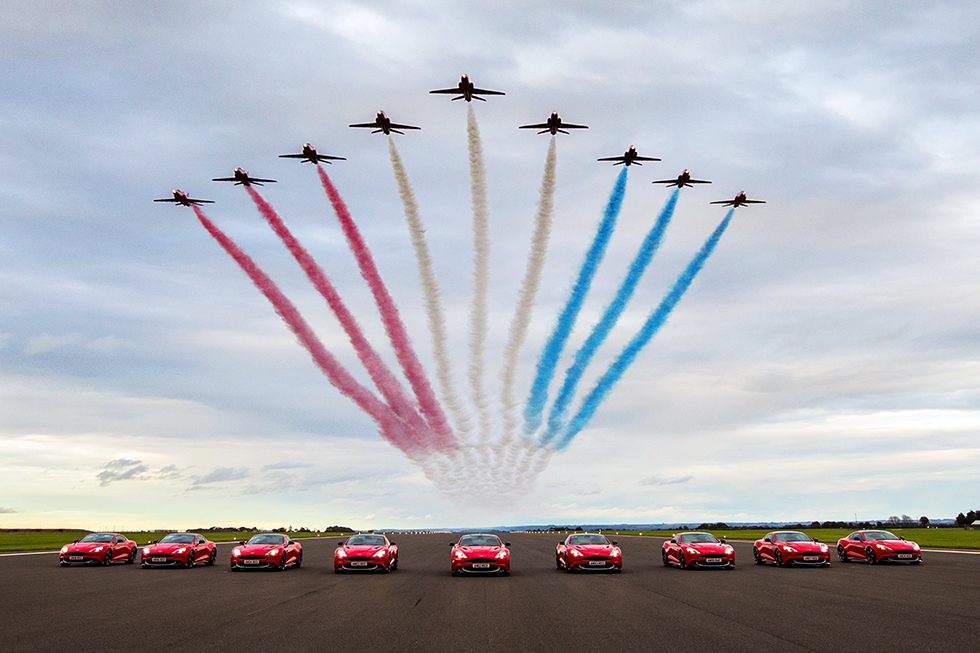 Aston Martin Red Arrows edition
