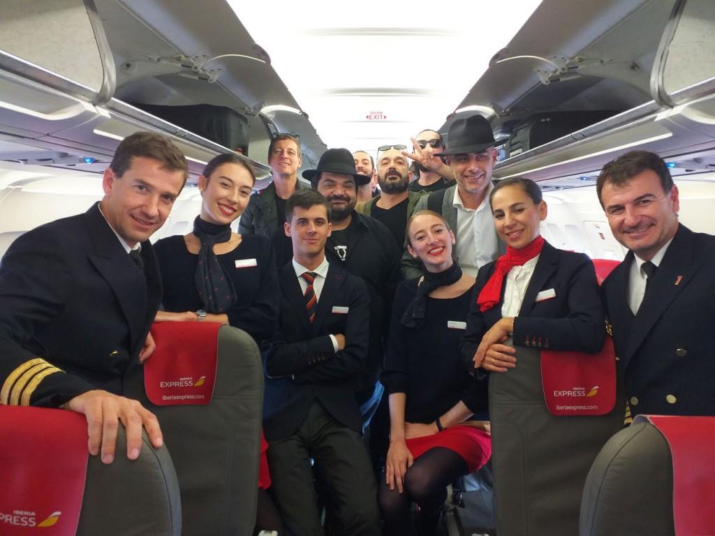 Iberia Express_Beatles_Neri per Caso
