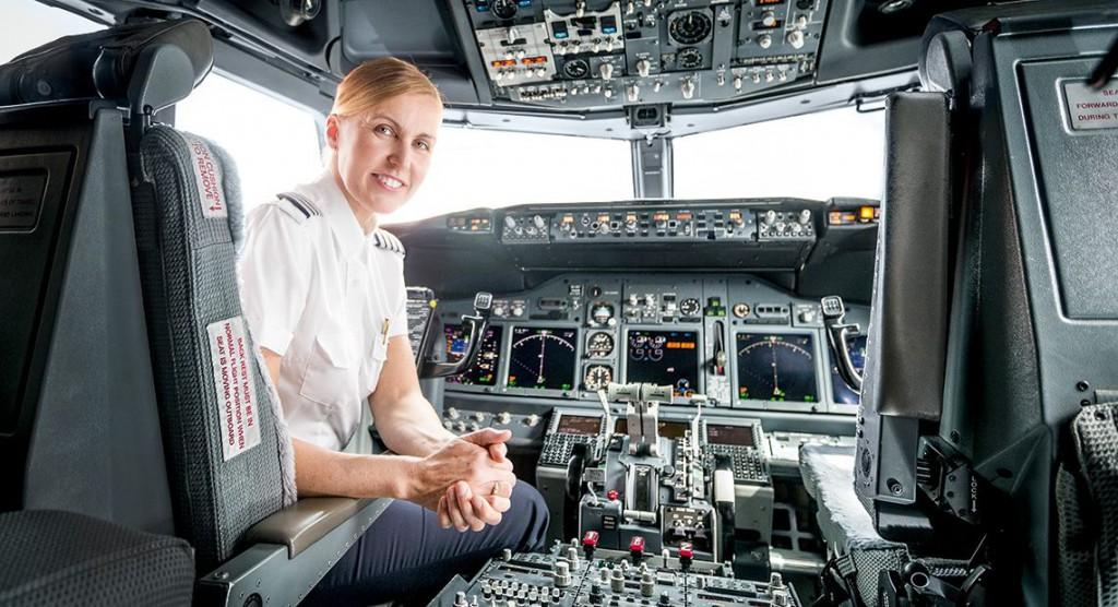 La comandante Marie Stridh. Foto: SAS